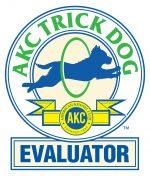 AKC Trick Dog Evaluator logo dog trainers