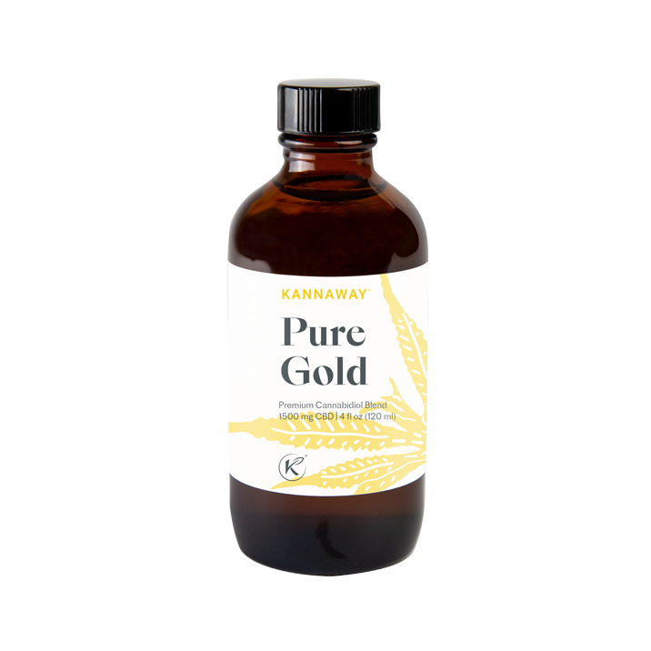 Pure Gold 1500 mg CBD Oil for Dogs